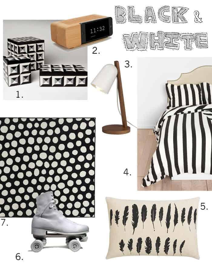 Black and White Dorm Round Up