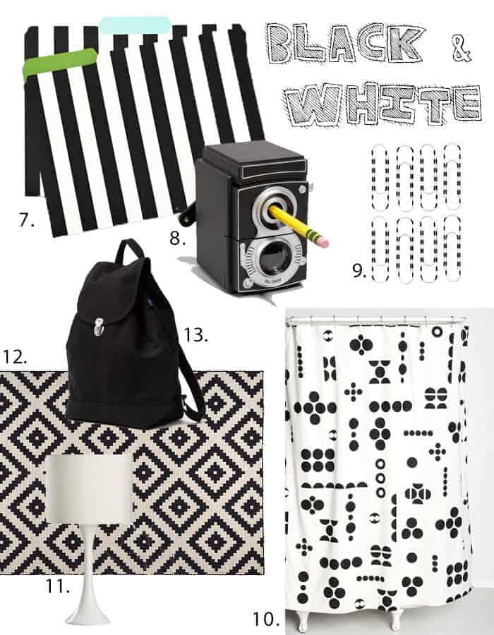 Black and white Dorm Round Up Part 2