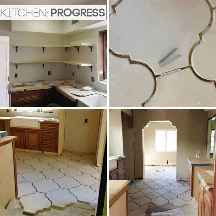 California Country_Kitchen_Emily Henderson_progress 1