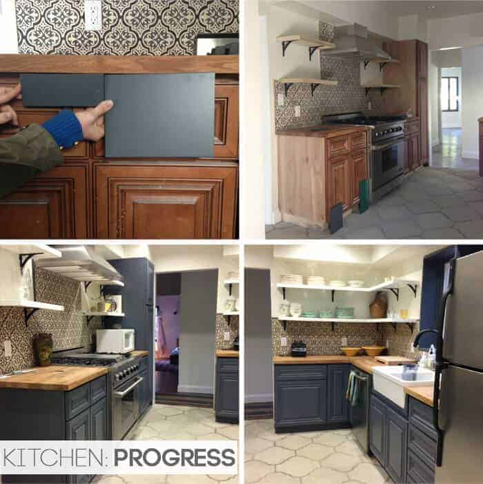 California Country_Kitchen_Emily Henderson_progress 3