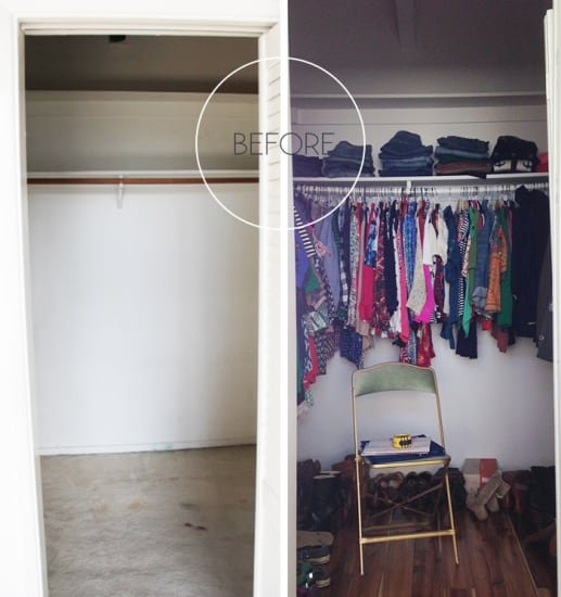 ClosetBefore