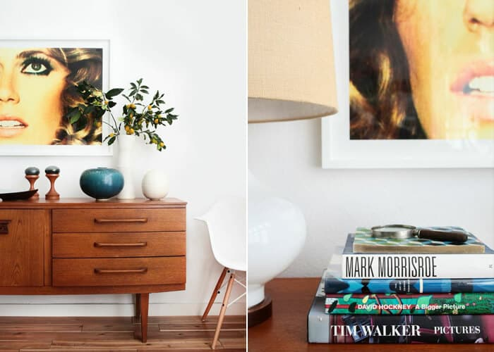 Credenza_4 Ways_Photography_Pottery_Mid Century Modern Casual 1