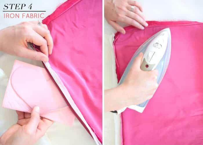 DIY Embossed Velvet Pillow How To