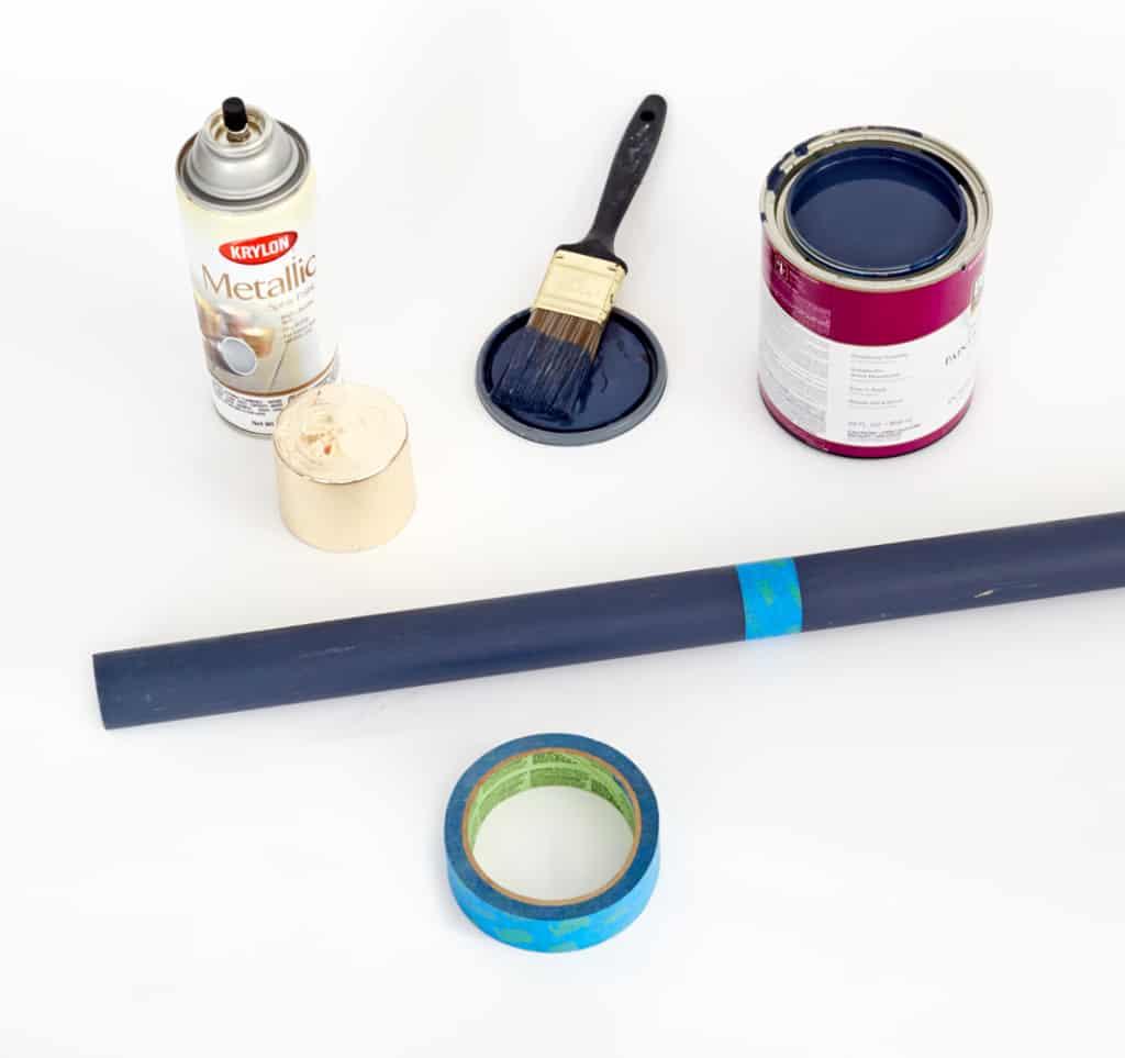 DIY Redbook_Coatrack_ Emily Henderson MidCentury Modern_painting