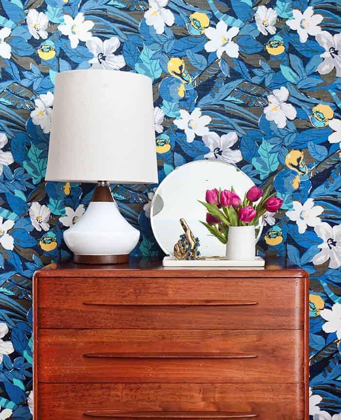 Dresser 4 Ways_Blue White Yellow Flower_Pink_Floral_Brass