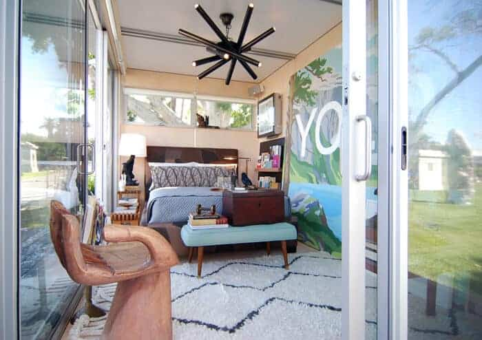 James Franco Pop-Up House Forever Cemetery Airbnb