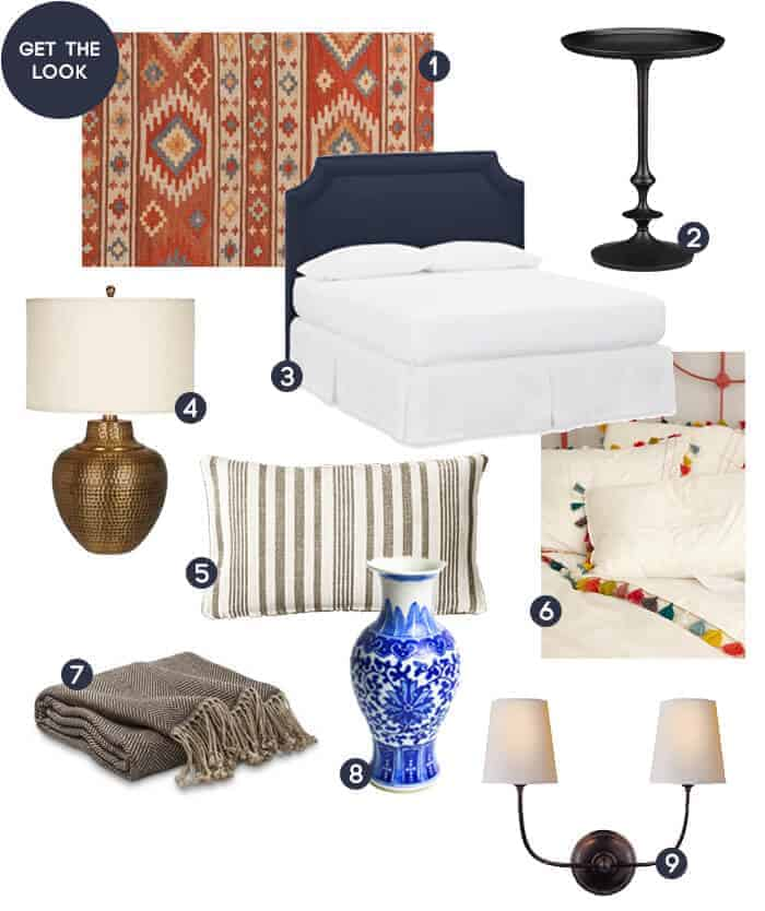 Get the Look_Shana Guest Bedroom