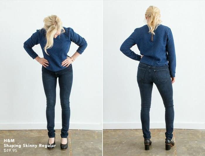 H&m Skinny Shaping Jean_emily