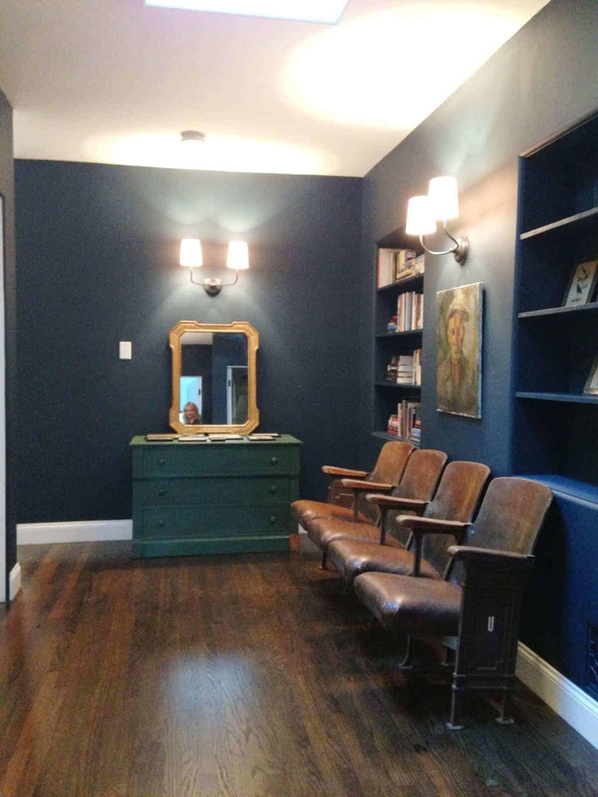 hague blue hallway