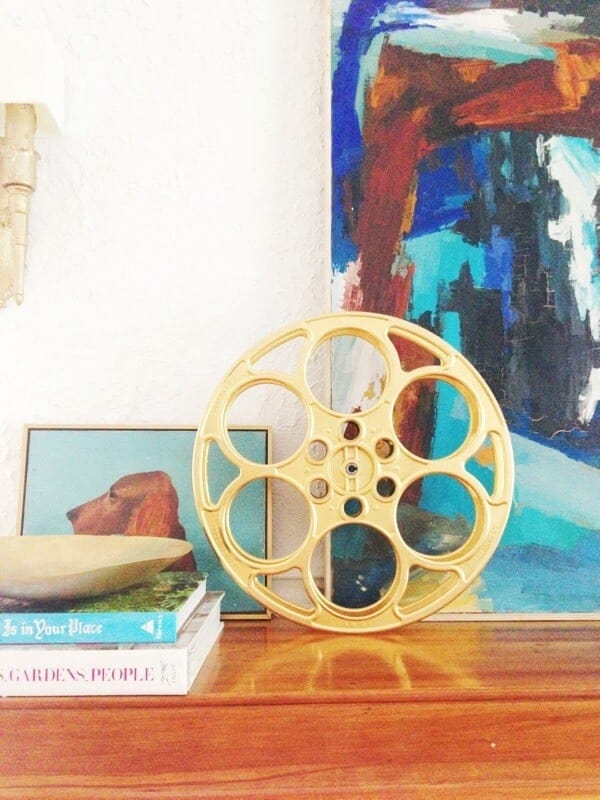 gold movie reel