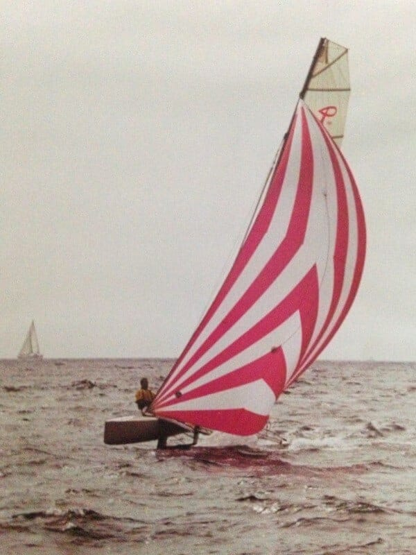 pink boat photo