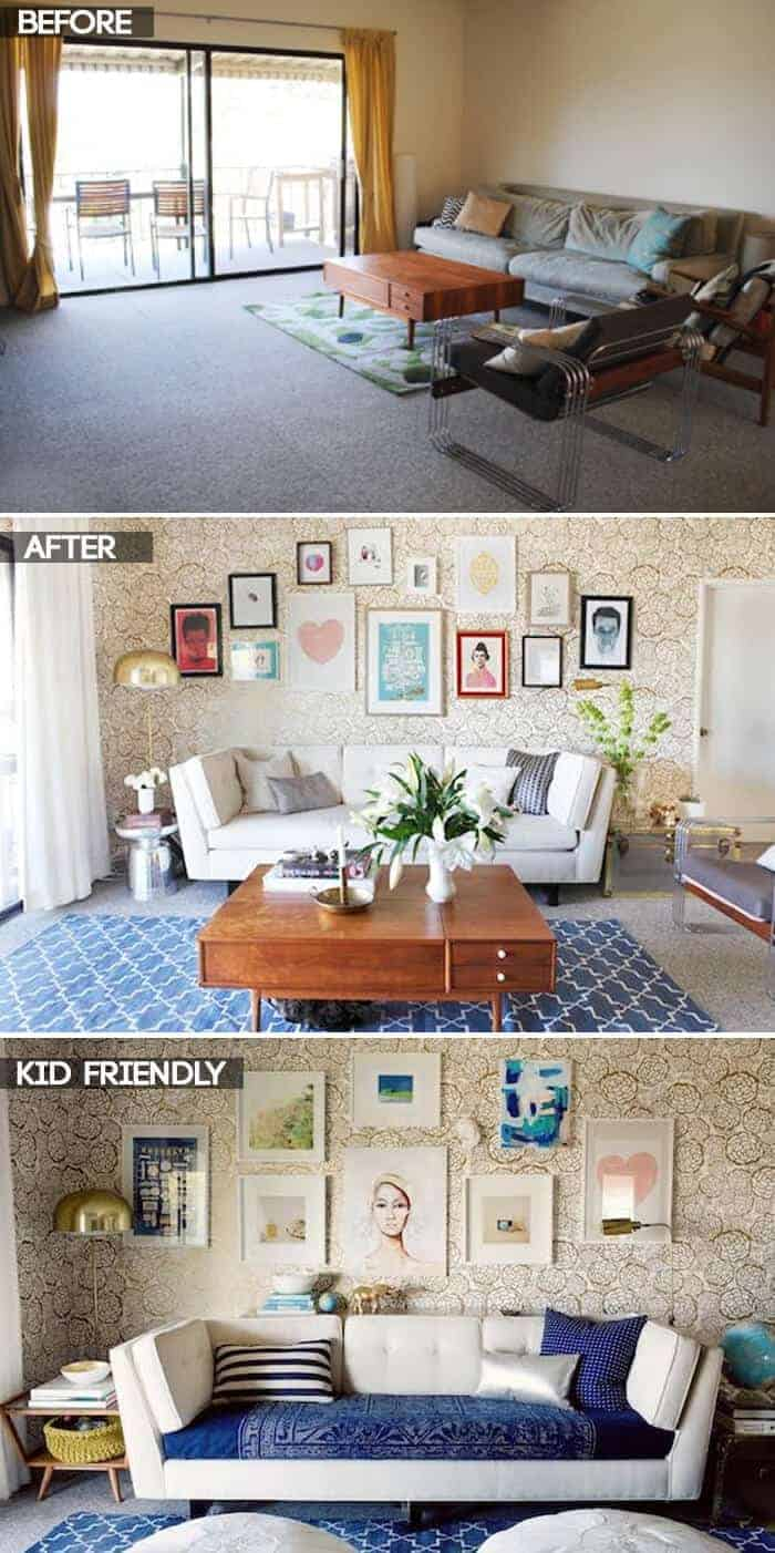 Oh Joy Living Room_before after
