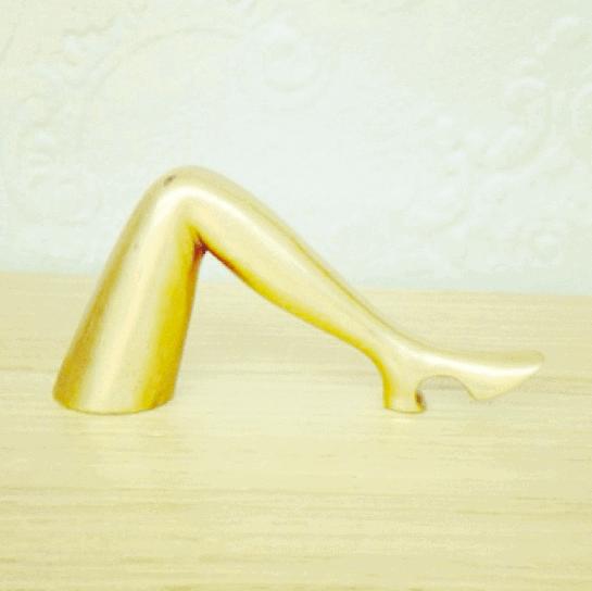 brass leg