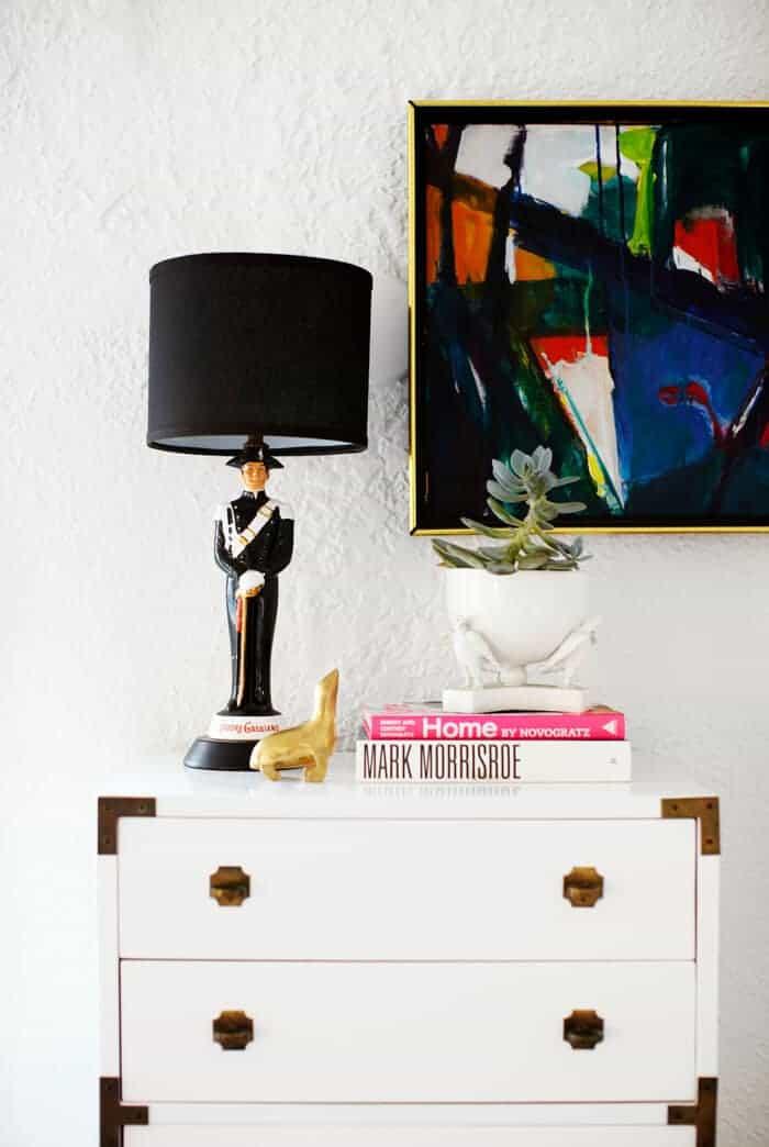 capaign dresser
