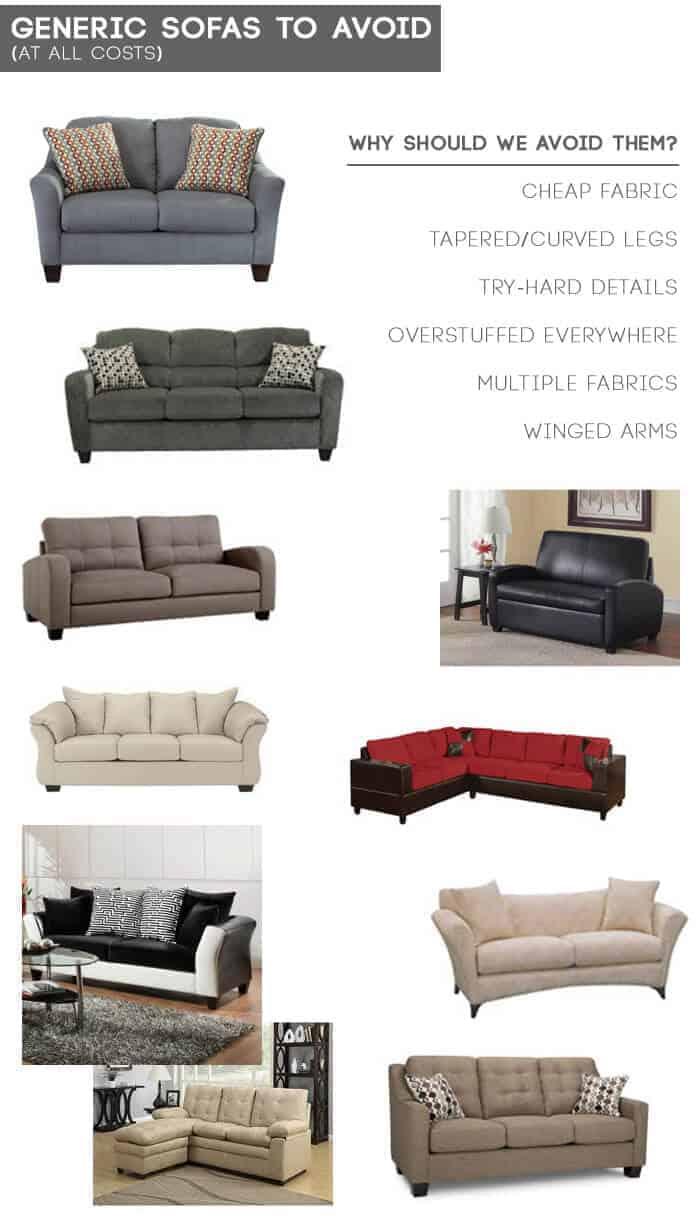 Design Mistake 1 The Generic Sofa Emily Henderson