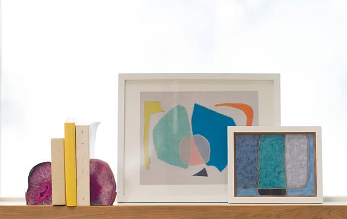 Target Accent Wall_Accessories window geode books