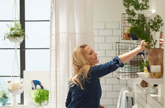 Target_Emily Henderson_Bathroom_Blue White Green Eclectic Bohemian_bts emily mirror