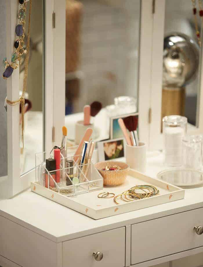 Target_Emily Henderson_Bathroom_Blue White Green Eclectic Bohemian_vanity3