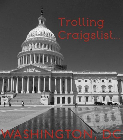 Trolling Craigslist DC
