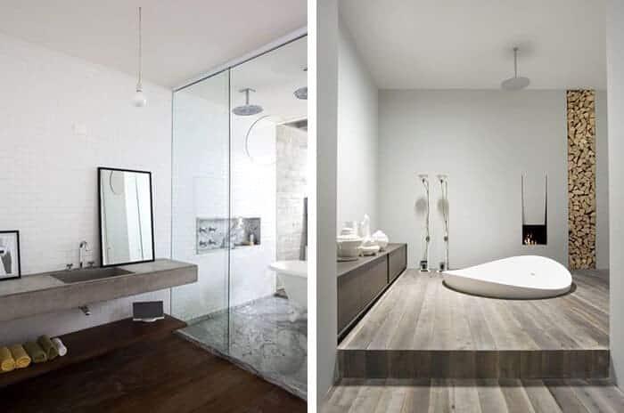 Utilitarian Bathroom