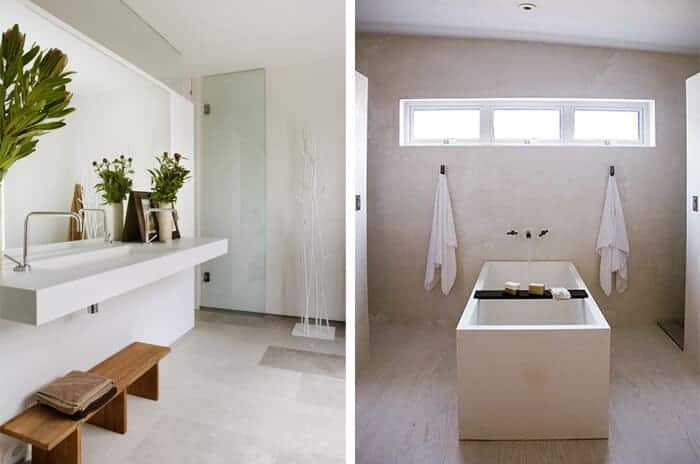 Utilitarian Bathroom