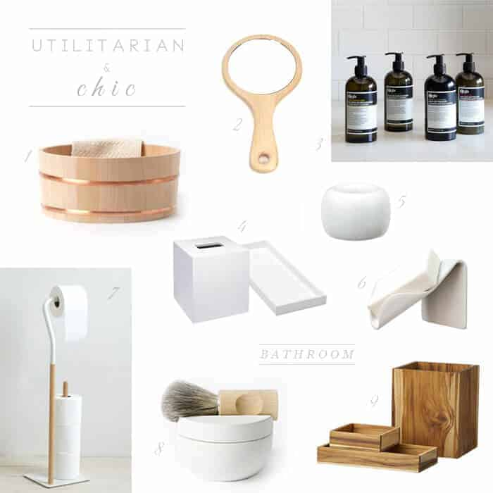 Utilitarian & Chic Bathroom