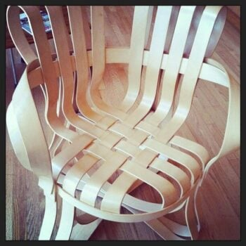 Oh, how I'd love a Frank Gehry chair. By @lovingeli