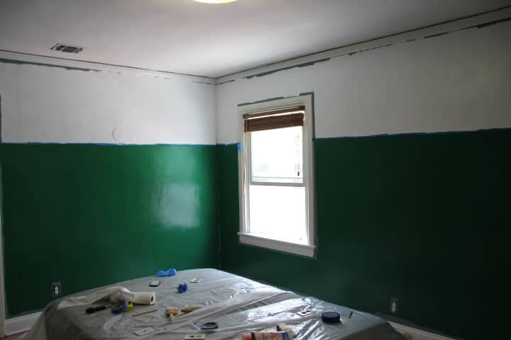 clover green valspar paint kelly green