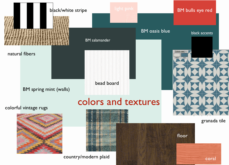 country palette