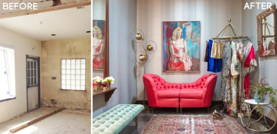 fig house_bridal suite_before after