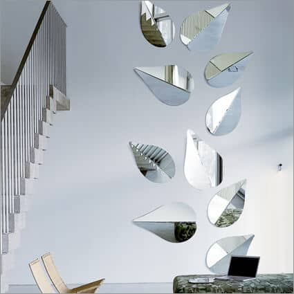 gallotti & radice spring leaf mirror by ricardo bello dias