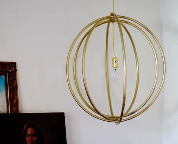 hulahoop light fixture