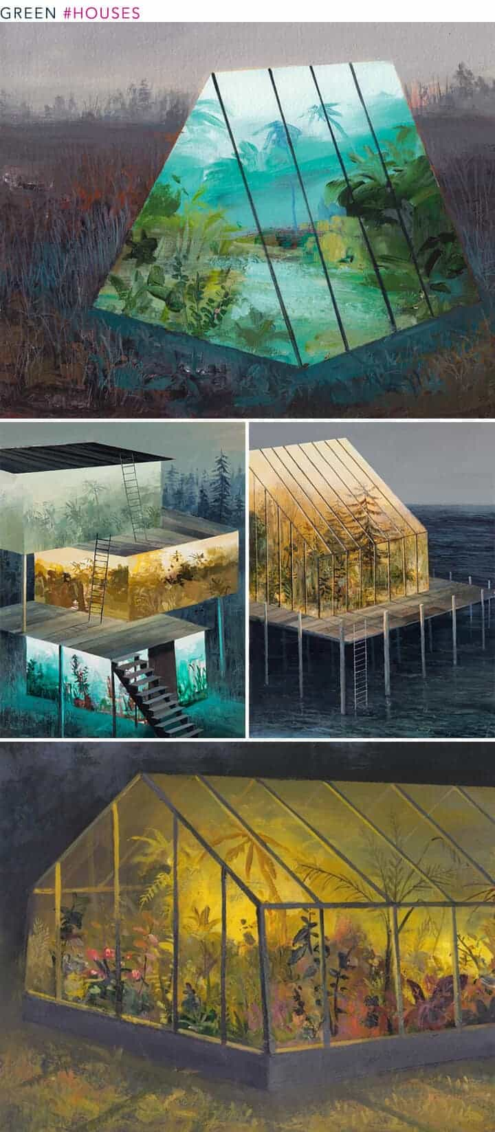 greenhouse artwork