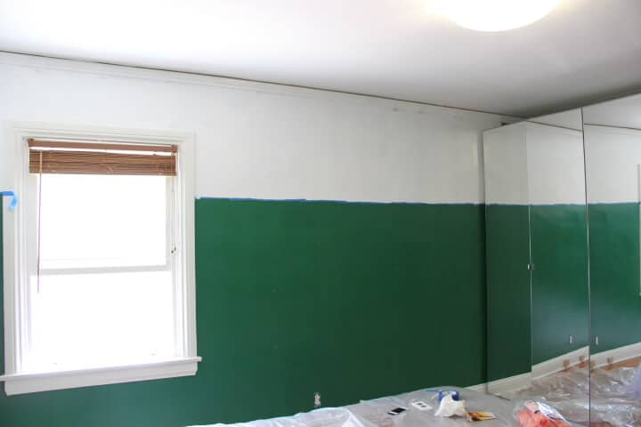 kelly green first coat