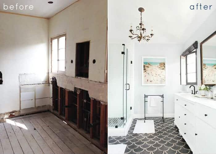 master bathroom_before_after
