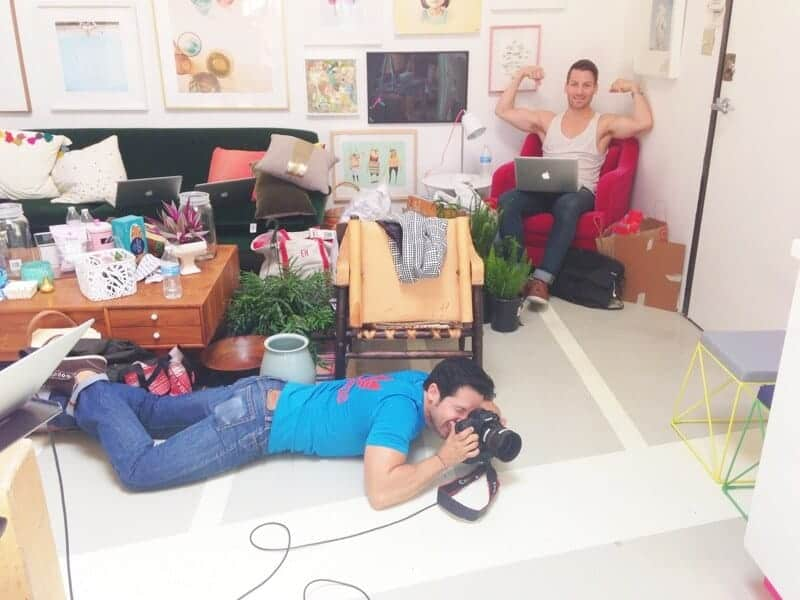 oh joy office shoot