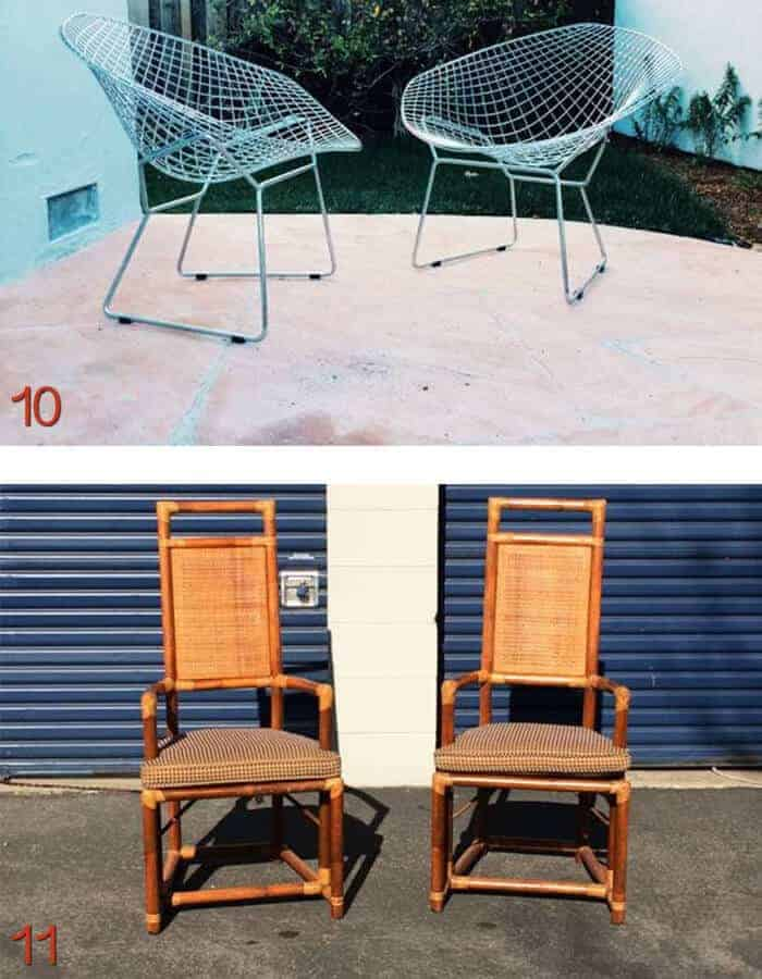 san francisco craigslist pair of chairs
