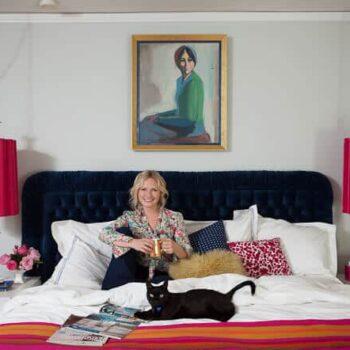 bedroom, vintage