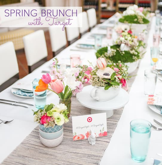 spring brunch with target