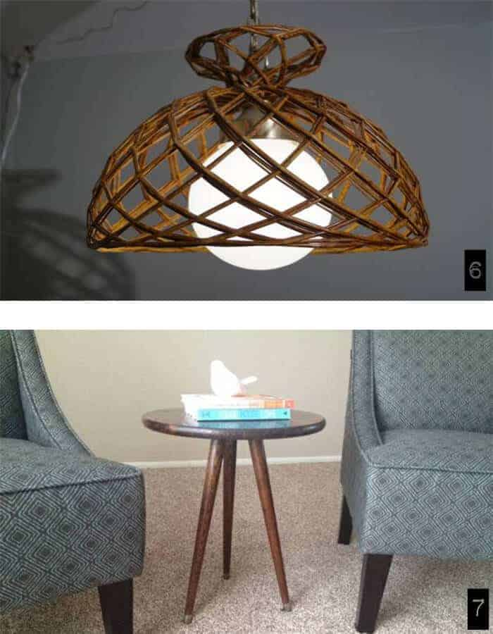 trolling craigslist milwaukee vintage lamp and tables