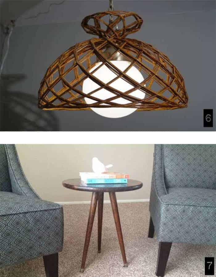 trolling craigslist milwaukee vintage lamp and tables