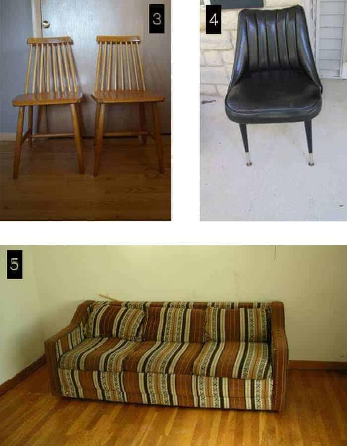 trollings craigslist milwaukee vintage chairs and free sofa